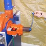 Védősátor - komplex védelem Kollektív gázálarc 04